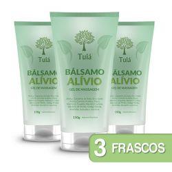 Bálsamo Alívio - Gel de Massagem - Kit 03 Bisnagas
