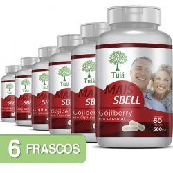 Gojiberry - Mais Sbell - Kit 06 Frascos