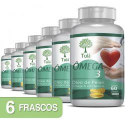 Ômega 3 - Kit 06 Frascos