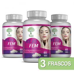 Colágeno - Reju Fem - Kit 03 Frascos