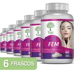 Colágeno - Reju Fem- Kit 06 Frascos